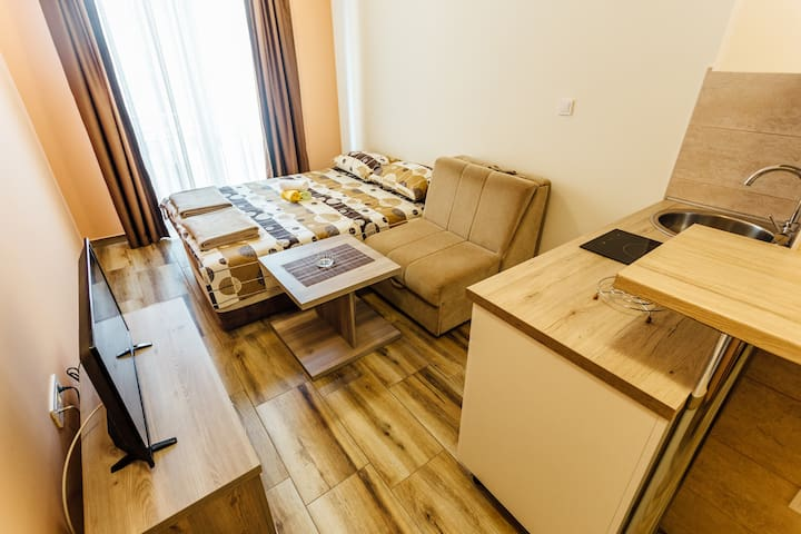 Anastasija Studio for 3 persons - Igalo - Apartamento