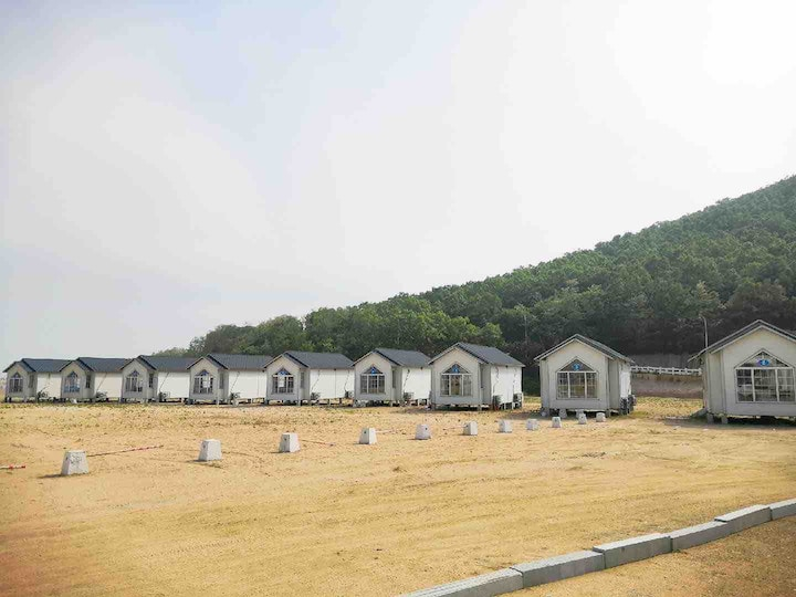 金石滩沙滩海景木房•清风之庭