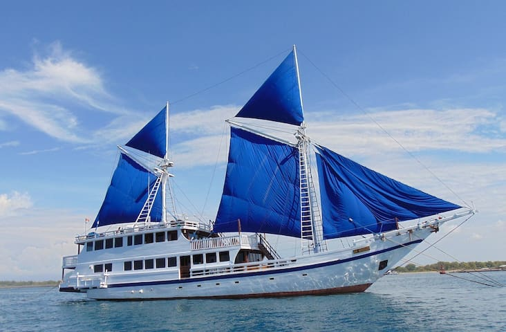 Superb Indonesian Phinisi - Entire Boat