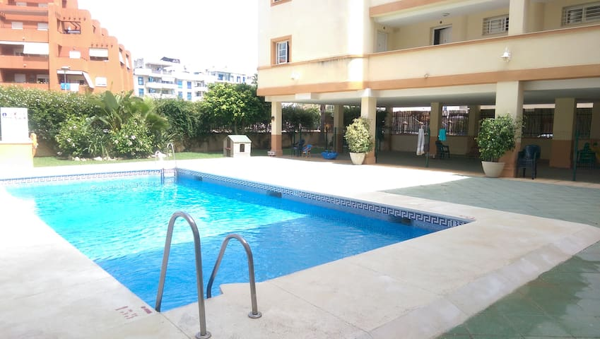 """Elegant Duplex """"Quinta Esencia"""" with Sea Views, WIFi, Air Conditioning & Shared Pool; Parking Available in the Street"""