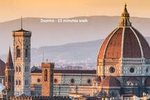 Duomo - 10 minutes walk