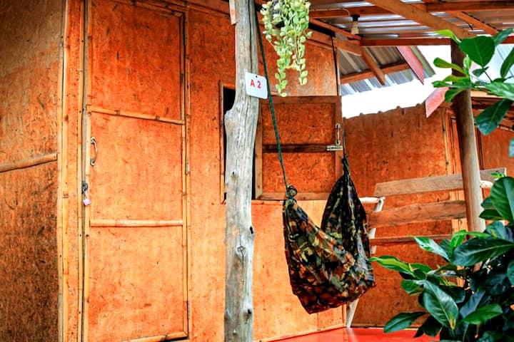 Asama Bungalow 3 ( Bamboo bungalow with fan )