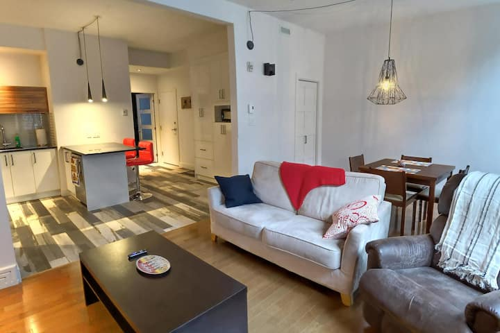 Charming & Cosy flat in the heart of Old Québec