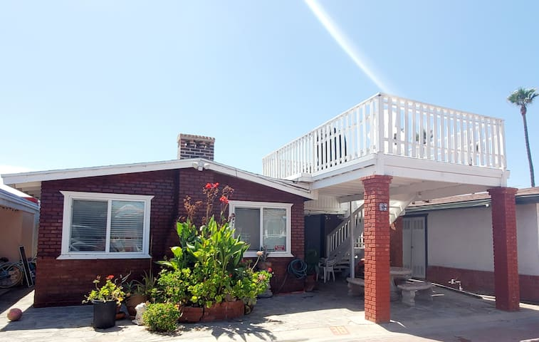 BEACHSIDE HOME in Downtown Rosarito w/24/7 Securty