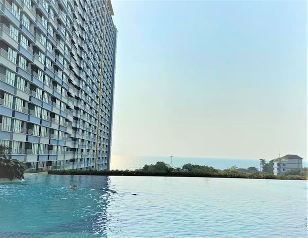 Beach Room Jomtien/Pattaya Smart-TV Streaming E12