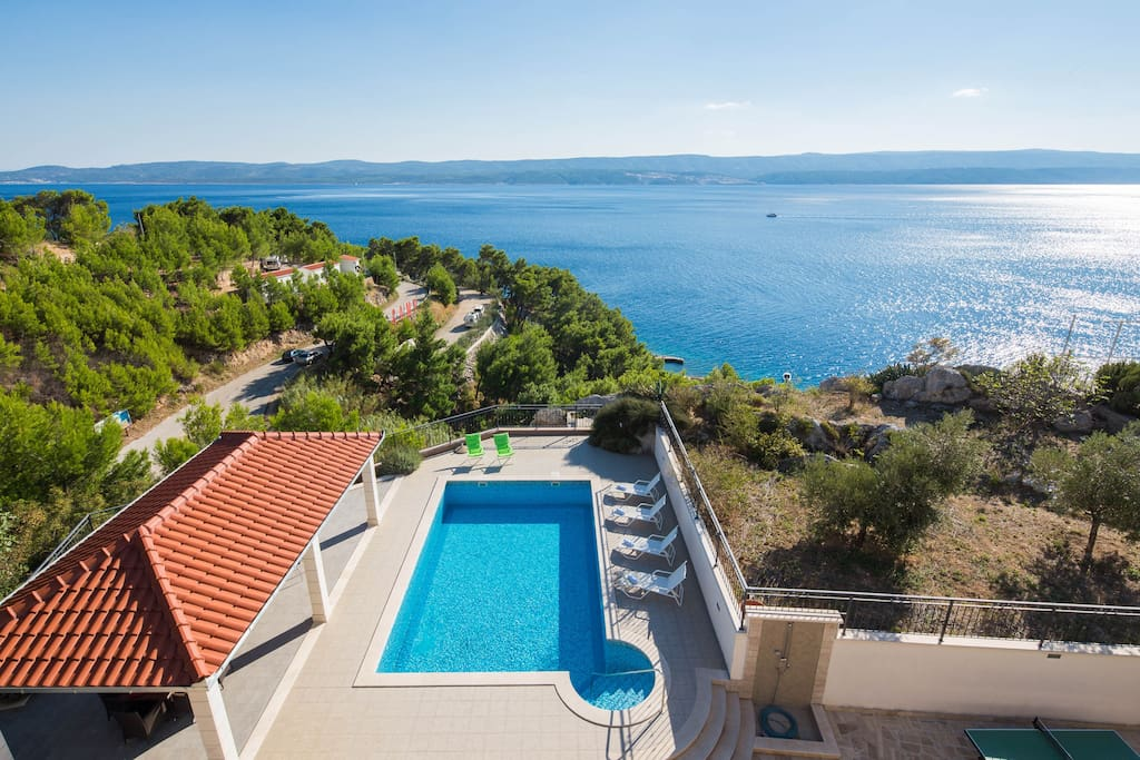 View of the island of Brac