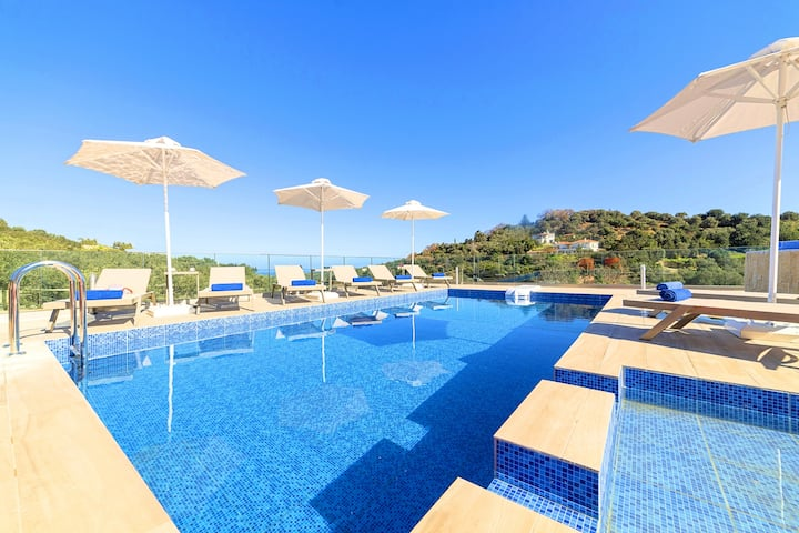 Etesians Villa Heated Pool