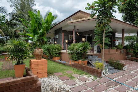 Amphawa private vacation home w 2 bedrooms