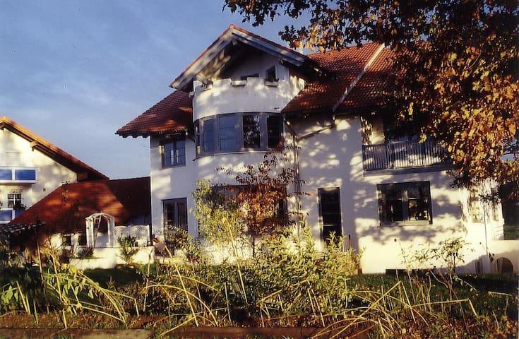 Grosszügige Unterkunft am Alpenrand - Kempten (Allgäu) - Apartment