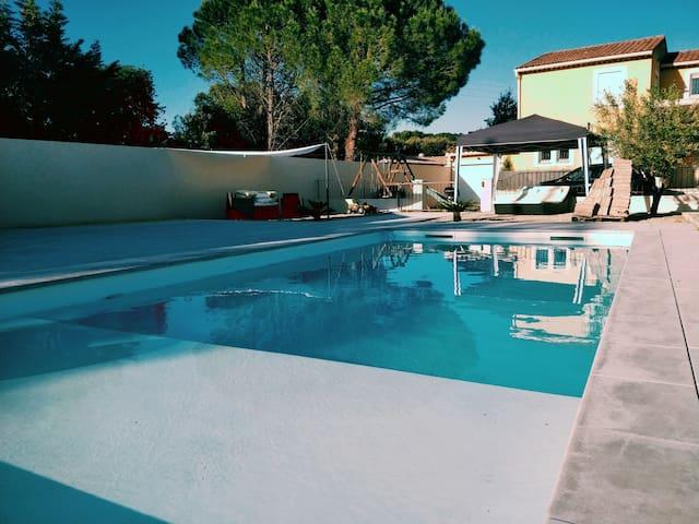 Villa 170m2 avec piscine aux portes de la Provence
