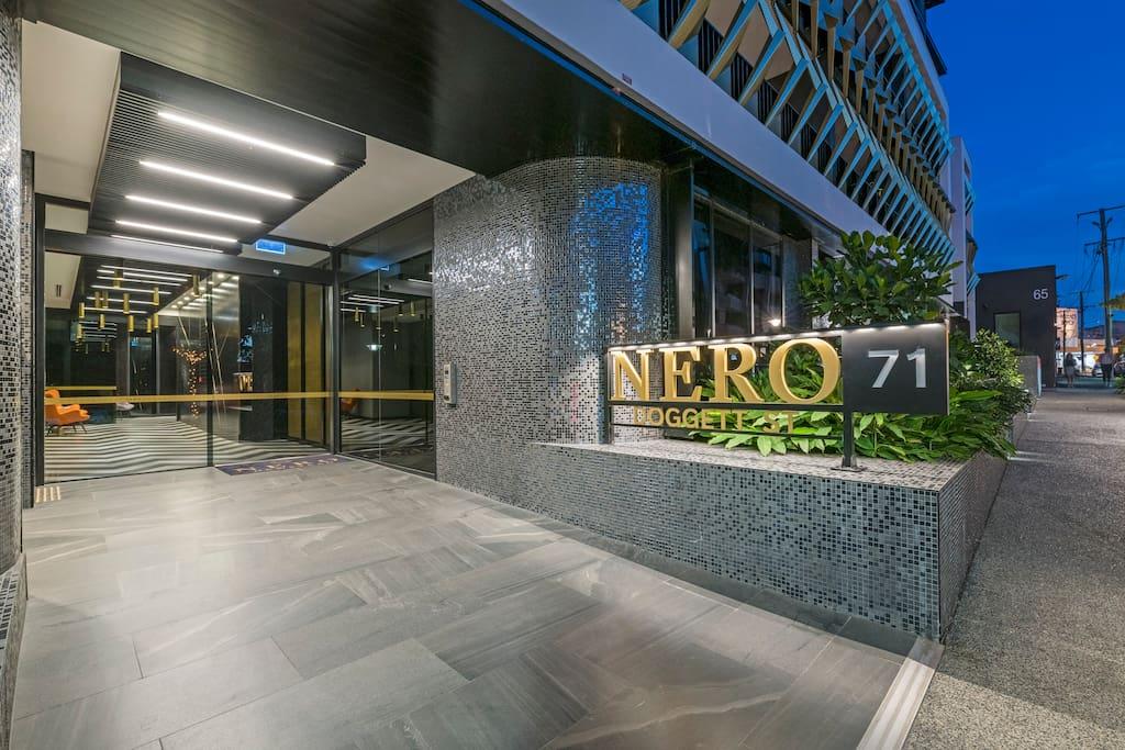 Street Entry to Nero Newstead