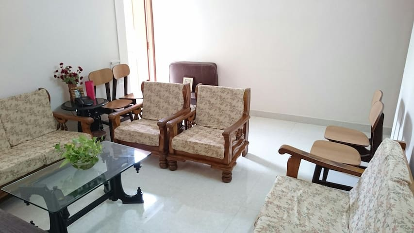 Spacious 1BHK in Margao, Goa - Margao - Huoneisto