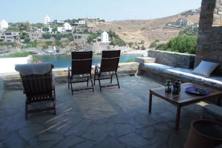Villa with private beach - Koundouros