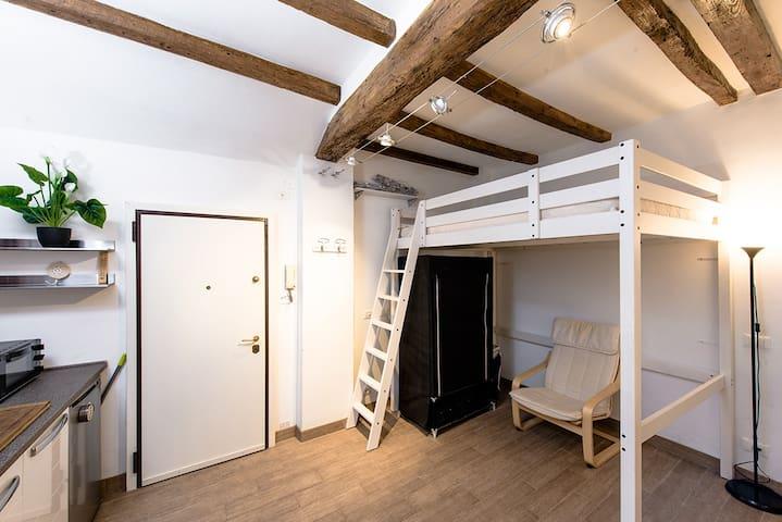 Charming and Modern Studioflat