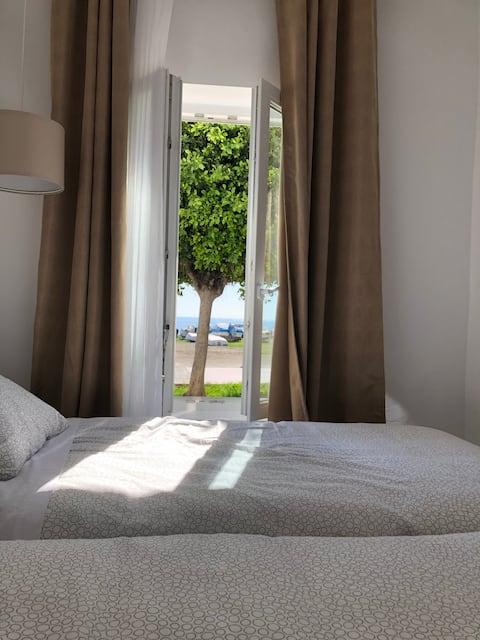 Apartamento frente al Mar con vistas, 1 Dormitorio