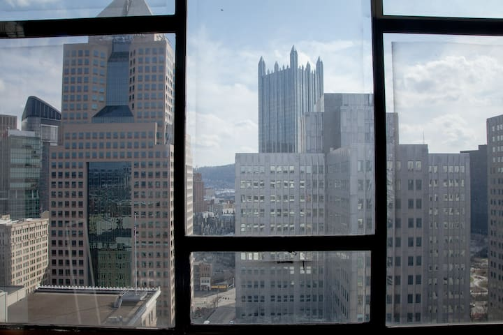 Best City Views Downtown Pittsburgh - Pittsburgh - Leilighet
