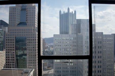 Best City Views Downtown Pittsburgh - 匹兹堡 - 公寓