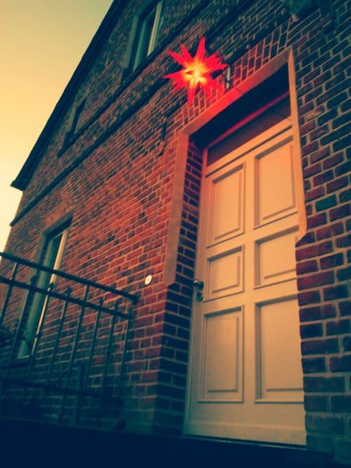 Weihnachten in Suckow, auf Wunsch mit Biogans