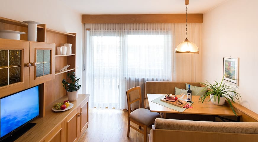 Holiday Apartment near Merano with Pool, Garden and Wi-Fi