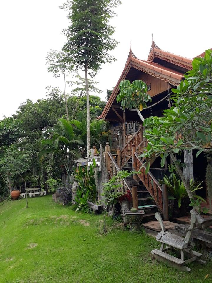 พักบ้านเพื่อน @วังน้ำเขียว แหล่ง OZONE อันดับโลก