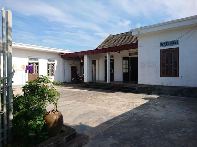 A peaceful minimzed resort