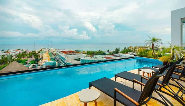 Ocean View from your room and balcony, #1 location! Studio
