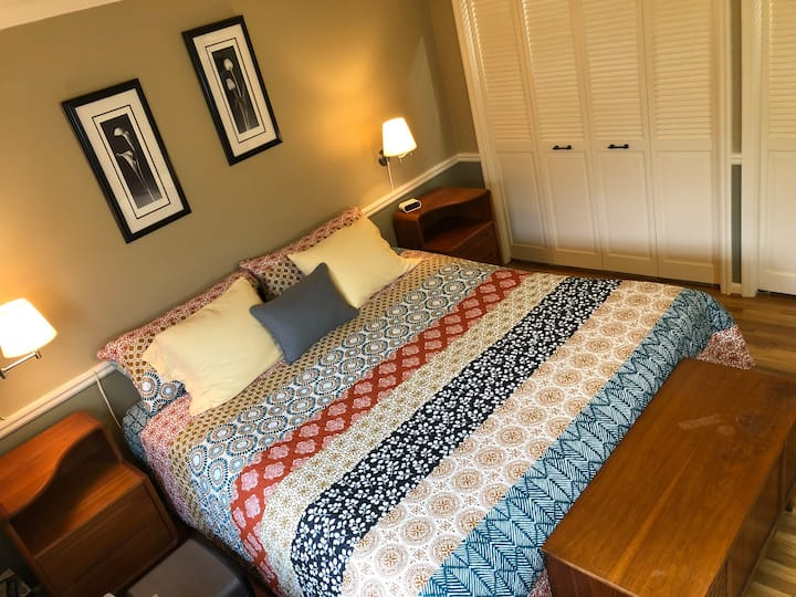 Olympic Trials Large Master Bedroom