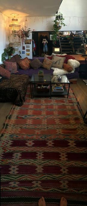Bedroom living space
