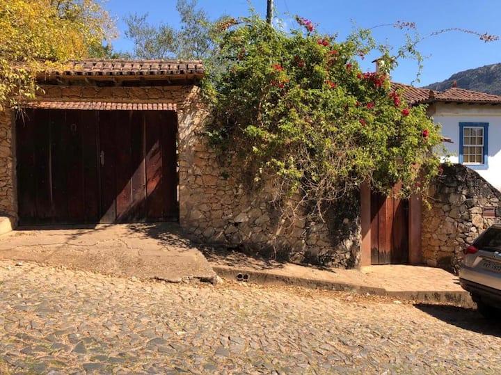 Sua casa em Tiradentes - a mais verde da cidade