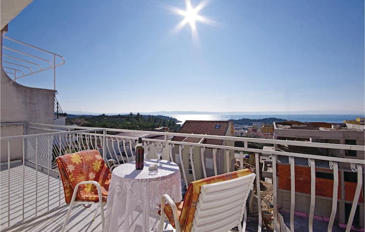 Awesome home in Makarska with WiFi and 0 Bedrooms