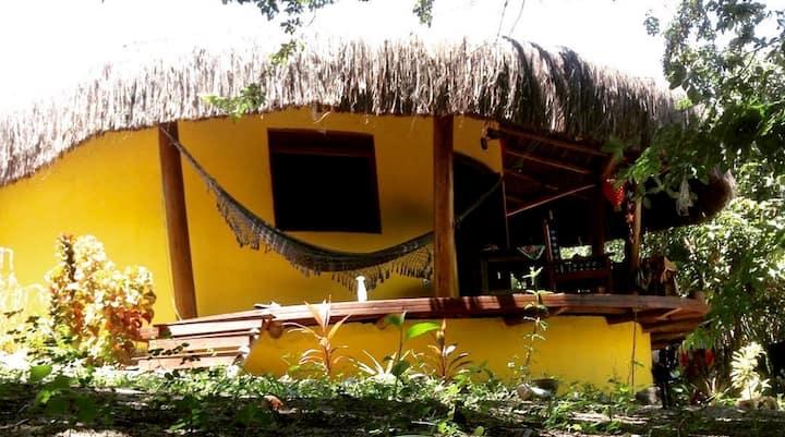 Casa de Bantu Brazil: African rustic house