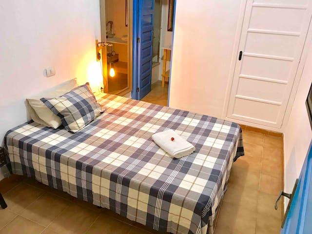 Habitación en suite con baño