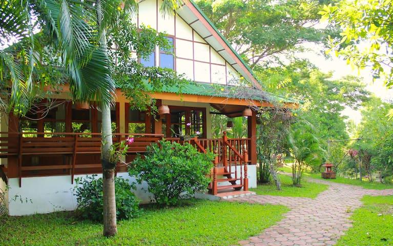 Secret Garden Jasmin House - Tambon Mae Khue - Bungalov