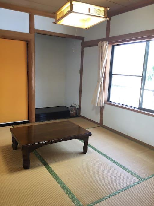 榻榻米的空間     Tatami room