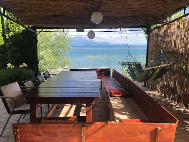 Entire Villa Elen Kamen,StrugaLake Ohrid,Macedonia