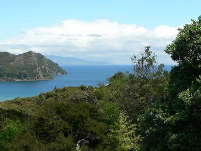 Great Barrier Island, Okupu. Te Ahumata Retreat