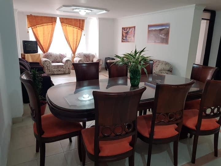 Apartamento, ambiente familiar.