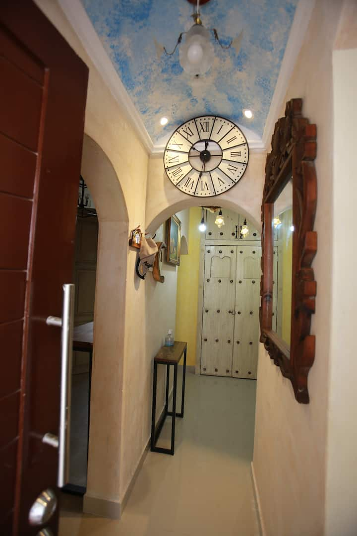 Casa  Cozumel, con terraza con jacuzzi