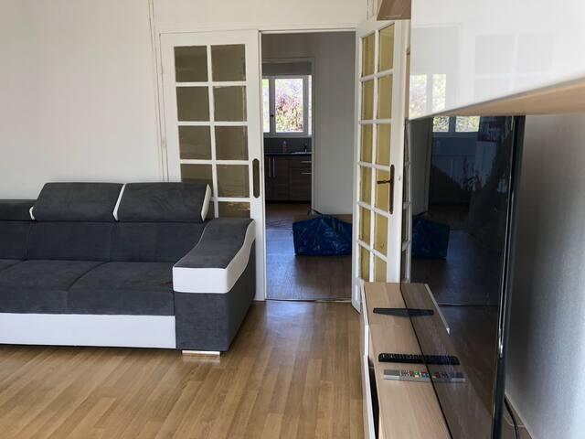 Appartement dans résidence calme proche de Paris