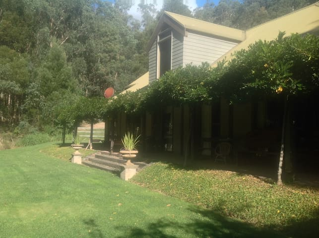 Green on green - Noojee - House
