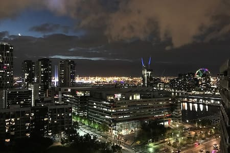 Docklands Private room with the best view! - Docklands - Apartamento