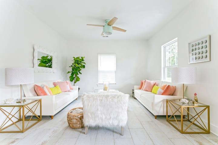 Island House Pink