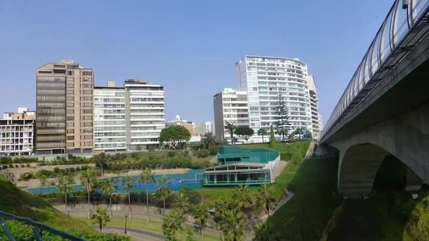 Habitacion en Miraflores, La zona  bella de Lima