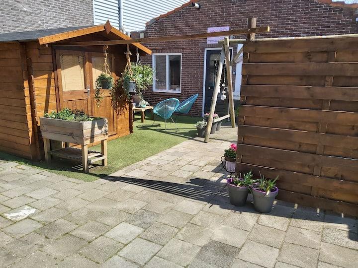Gerestaureerde bollenschuur in Noordwijk-Binnen