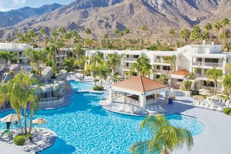 Palm Canyon Resort Villa (COACHELLA optional) - パームスプリングス - 別荘