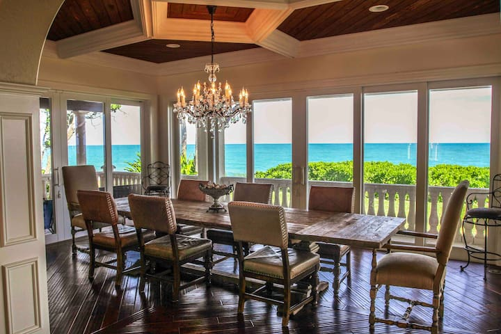 Oceanfront Villa with Private Pool in Vero Beach