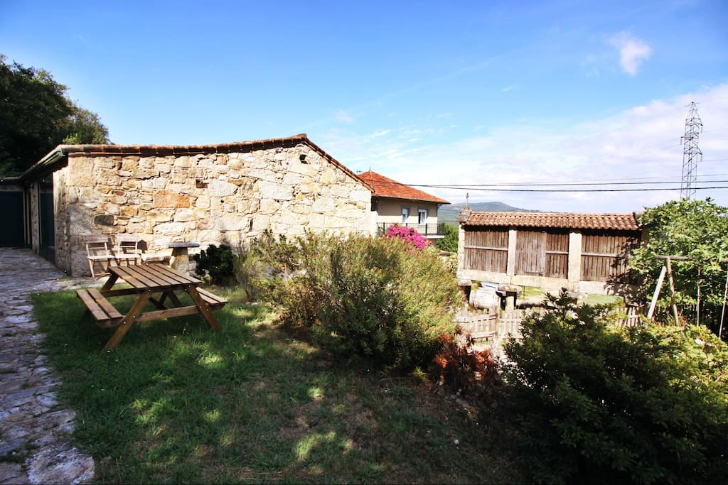Traditional Galician House Cottages For Rent In Valmaior