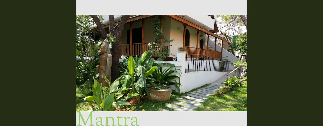 The Blue Room at MANTRA Pondicherry - Puducherry - Bungalow