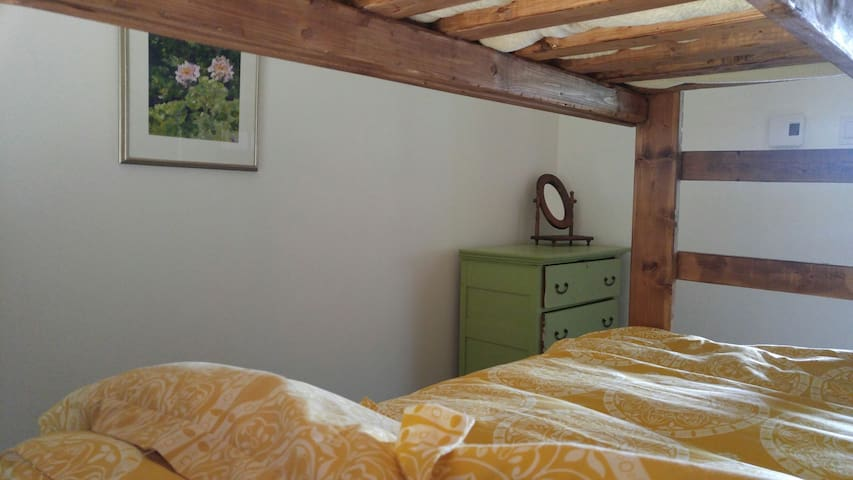 smallest room has a double bunk.