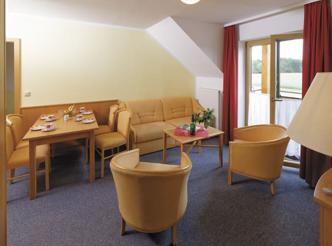 Panorama-Hotel am See (Neunburg vorm Wald), Appartement mit zwei Schlafräumen